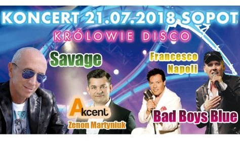 Królowie Disco: Savage, Zenon Martyniuk, Francesco Napoli i Bad Boys Blue