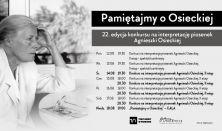 Konkurs na interpretację piosenek Agnieszki Osieckiej, II etap