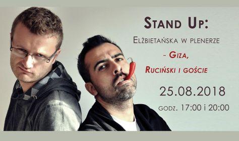 """Stand Up """"Elżbietańska w plenerze - Giza, Ruciński i goście"""""""