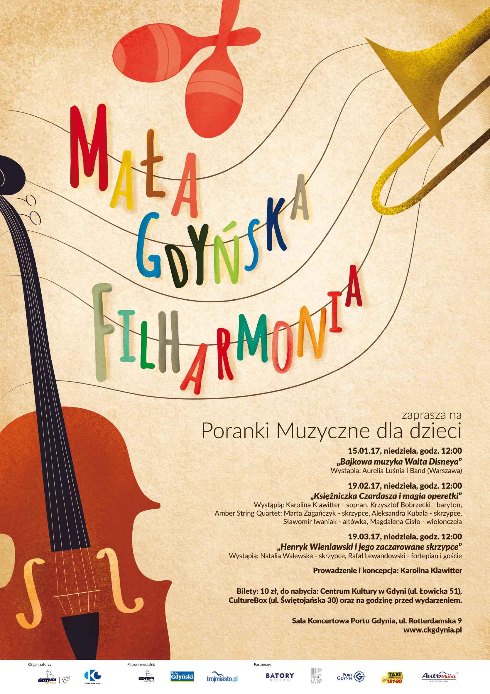 """Mała Gdyńska Filharmonia """"Henryk Wieniawski i jego zaczarowane skrzypce"""""""