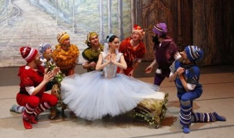 """Balet """"Królewna Śnieżka"""" w wykonaniu Imperial Lviv Ballet"""