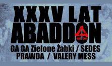 XXXV lat Abbadon