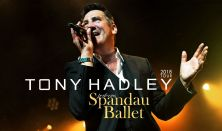 Tony Hadley perform's Spandau Ballet