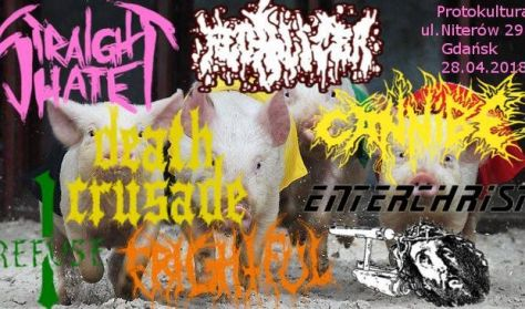 Świński FEST III - Cannibe, Fecalizer, Straight Hate + MORE