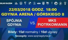 Spójnia Gdynia vs. MKS Piotkowianin