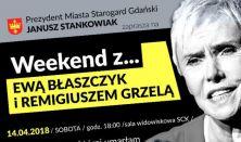 Weekend z Ewą Błaszczyk i Remigiuszem Grzelą. Monodram