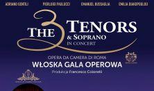 THE 3 TENORS & SOPRANO – WŁOSKA GALA OPEROWA