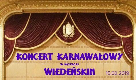 Koncert Karnawałowy w wiedeńskim nastroju