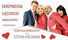 """""""Sceny dla dorosłych, czyli sztuka kochania"""" – spektakl teatralny"""