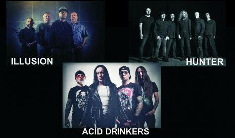 UnderGramy Festiwal Muzyczny - koncerty: Illusion, Hunter, Acid Drinkers oraz zwycięzca Undergramy