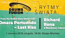 Drums Fusion. Rytmy Świata: Omara Portuondo, Richard Bona