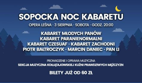 SOPOCKA NOC KABARETU