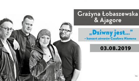 """Grażyna  Łobaszewska & Ajagore """"Dziwny jest…"""" – koncert utworów Czesława Niemena"""