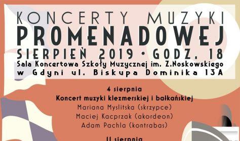 Koncert Muzyki Promenadowej - Koncert muzyki klezmerskiej i bałkańskiej
