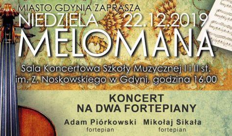 Niedziela Melomana w Szkole Muzycznej - KONCERT NA DWA FORTEPIANY