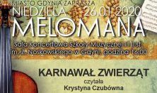 Niedziela Melomana w Szkole Muzycznej - KARNAWAŁ ZWIERZĄT czytała Krystyna Czubówna