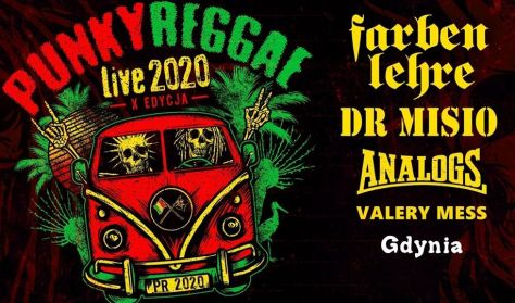 Punky Reggae Live 2020: Farben Lehre, Dr Misio, Analogs, Valery Mess