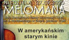 Niedziela Melomana - W amerykańskim starym kinie