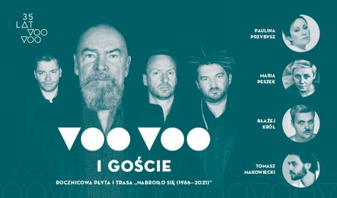 35 lat Voo Voo: koncert jubileuszowy w Operze Leśnej