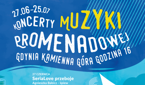 Koncert Muzyki Promenadowej - SeriaLove przeboje